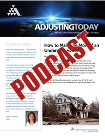How to Make the Most of an Underinsured Loss