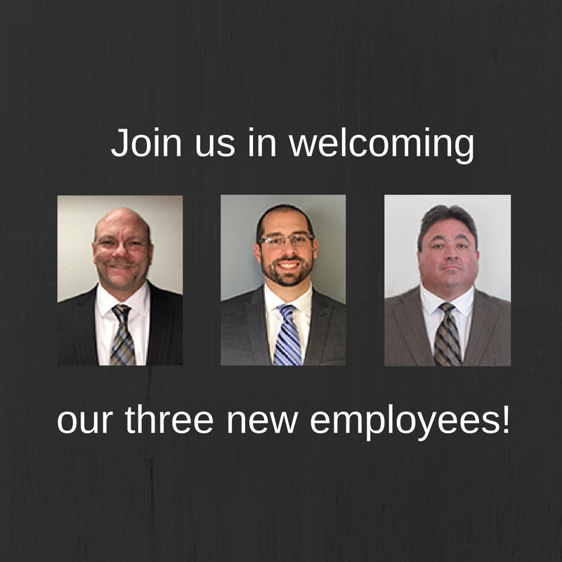 AI/BLC Welcomes Three New Employees — Michael Clune, Nick Vantucci and Scott Bennett — to Their Public Adjusting/Disaster Recovery Response Team
